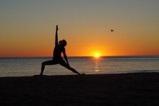 Jennifra Norton Chatham beach yoga