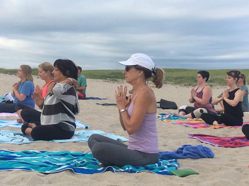 Summer Beach Yoga in Chatham 2018
