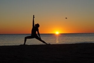 Jennifra Norton Chatham beach yoga