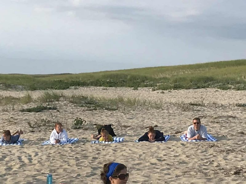 Chatham Beach Yoga 2018