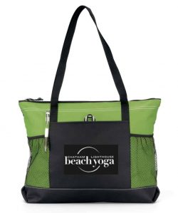 Chatham Beach Yoga Tote - green